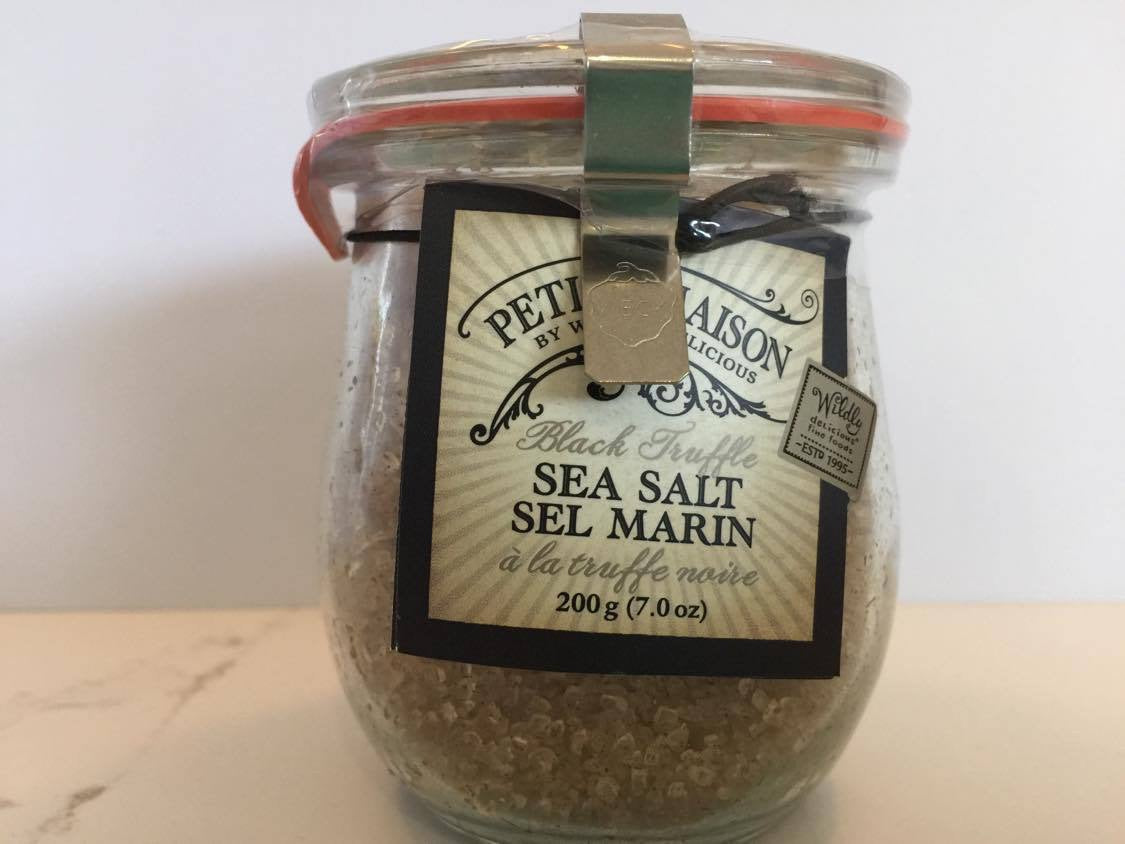 Petite Mason Black Truffle Sea Salt