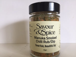 Manuka Smoked Chilli Rub