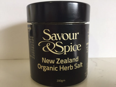 NZ Organic Herb Salt