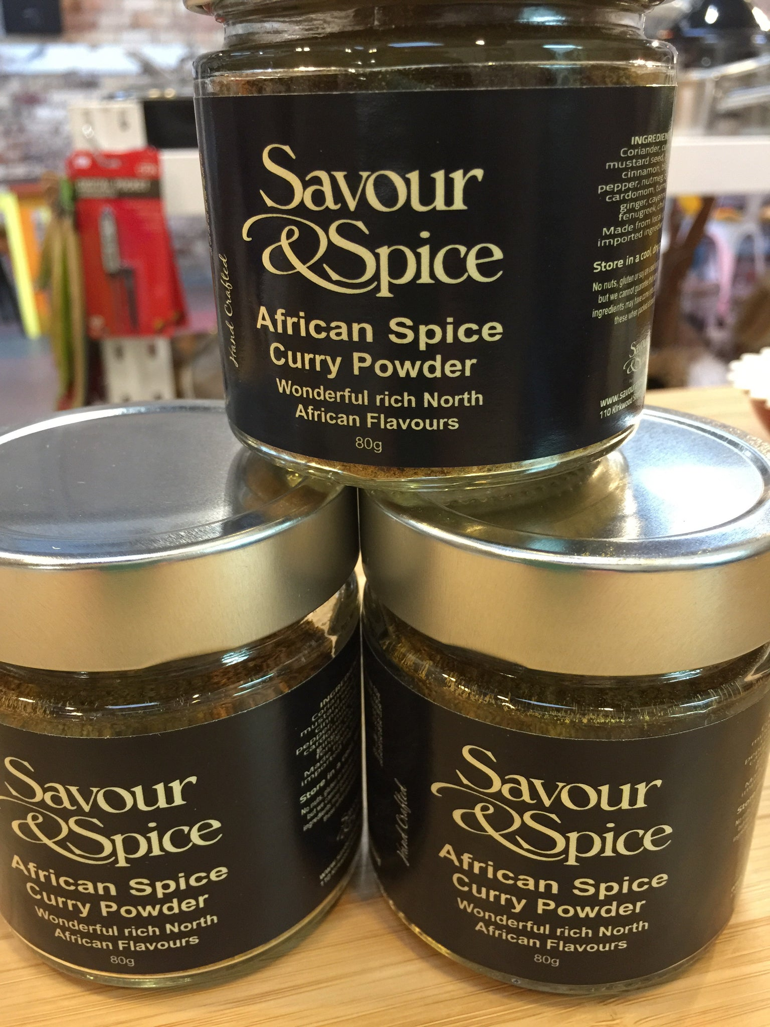 African Spice Curry Powder