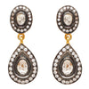 Crystal heirloom drop earrings
