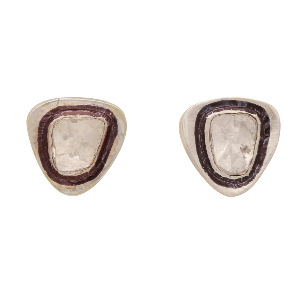 Sliced diamond simple studs