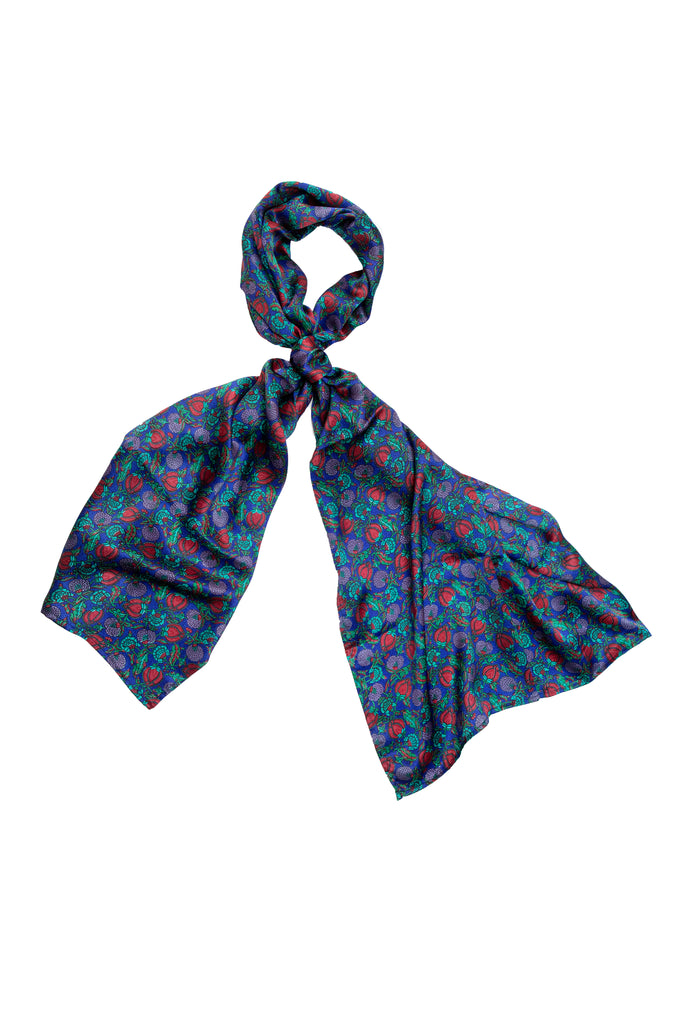 Berry Blue Scarf