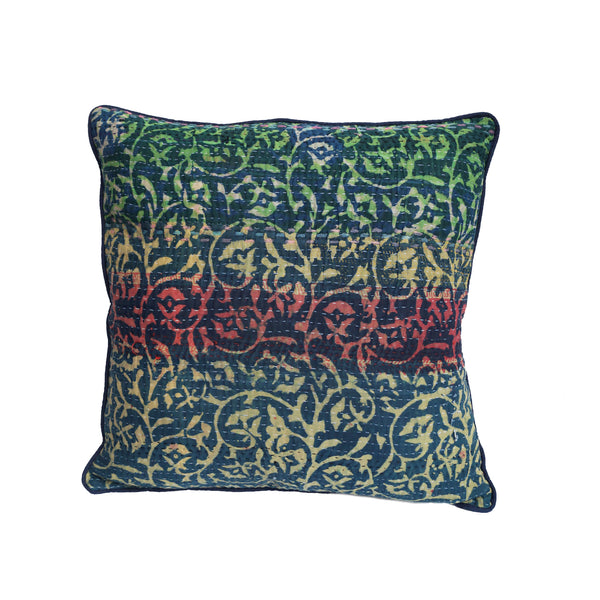 Abstract ikat luxury cushion - design 1