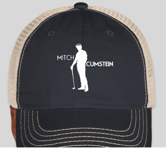 139cded9014 Super Soft Mesh Back Cap (Cursive Logo) – Mitch Cumstein Golf Company