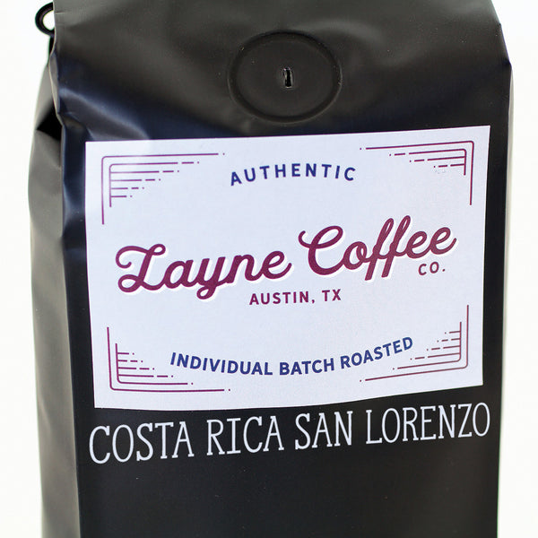 Costa Rica San Lorenzo Single Origin Coffee