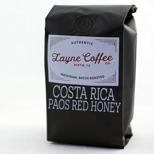Costa Rica Paos Red Honey
