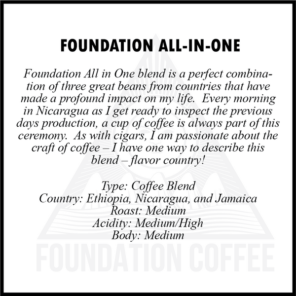 Foundation All in One Blend Coffee