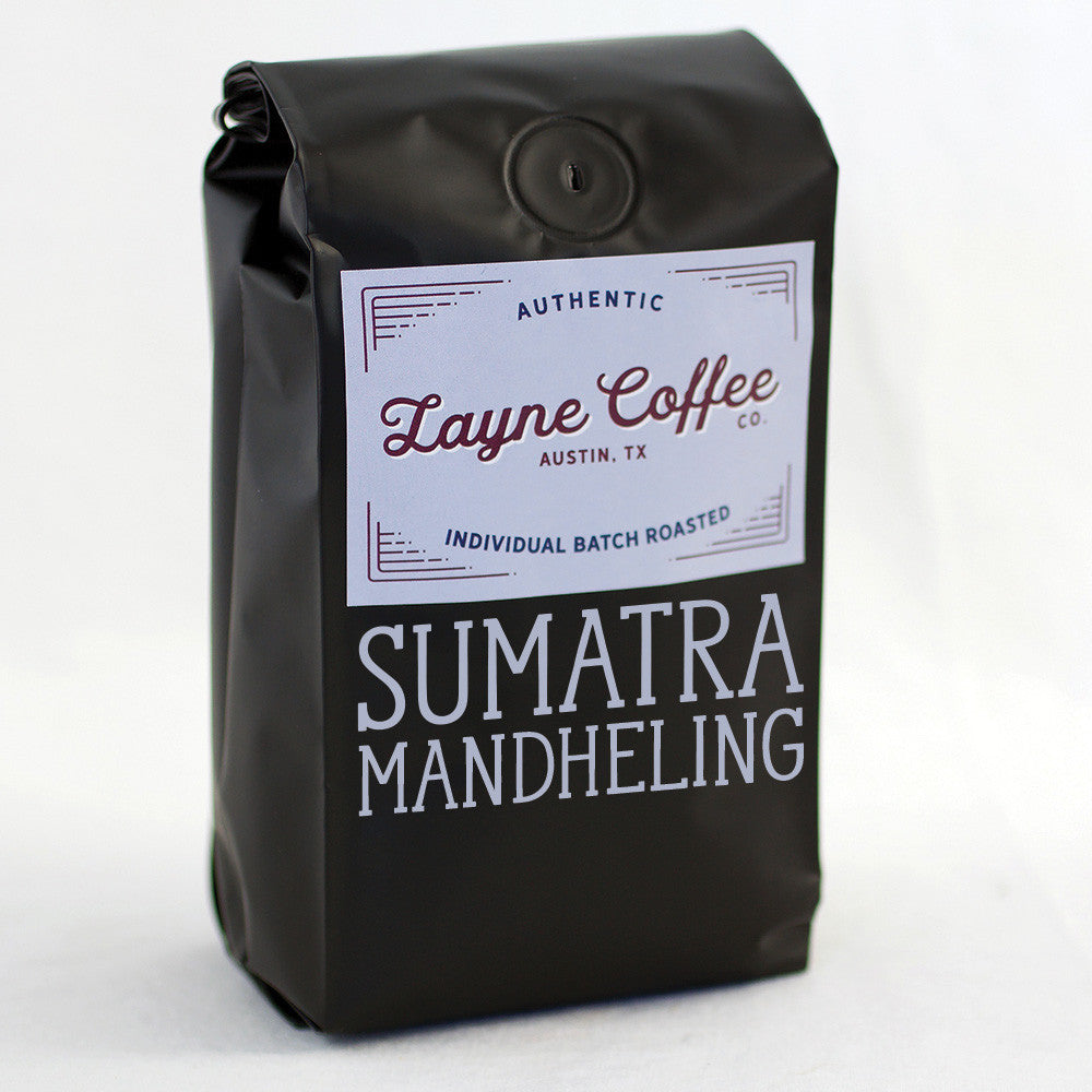 Sumatra Mandheling Single Origin Coffee