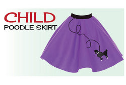 Child Poodle Skirts