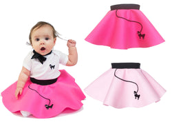 6-12 month Infant - 50's Poodle Skirt
