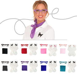 Adult 3 pc - 50's Accessory Set