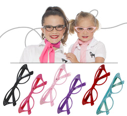 Child - 50's Girl's Cateye Glasses