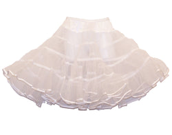 Child/Toddler White - 50's Crinoline Petticoat Slip
