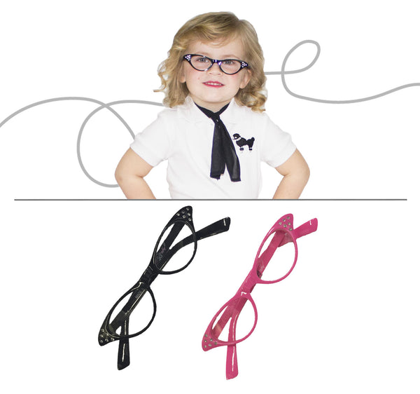 Toddler/Baby - 50's Cateye Glasses