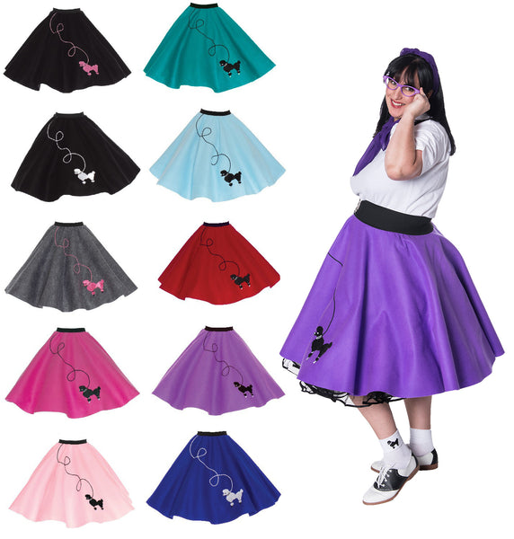 Plus Size Poodle Skirt - 50's POODLE SKIRT