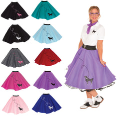 Adult Poodle Skirt - 50's POODLE SKIRT