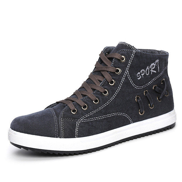 akexiya high top vintage shoes canvas shoes fashion