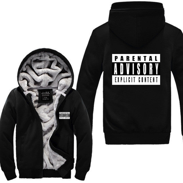Funny parental advisory explicit content sweatshirt men ...