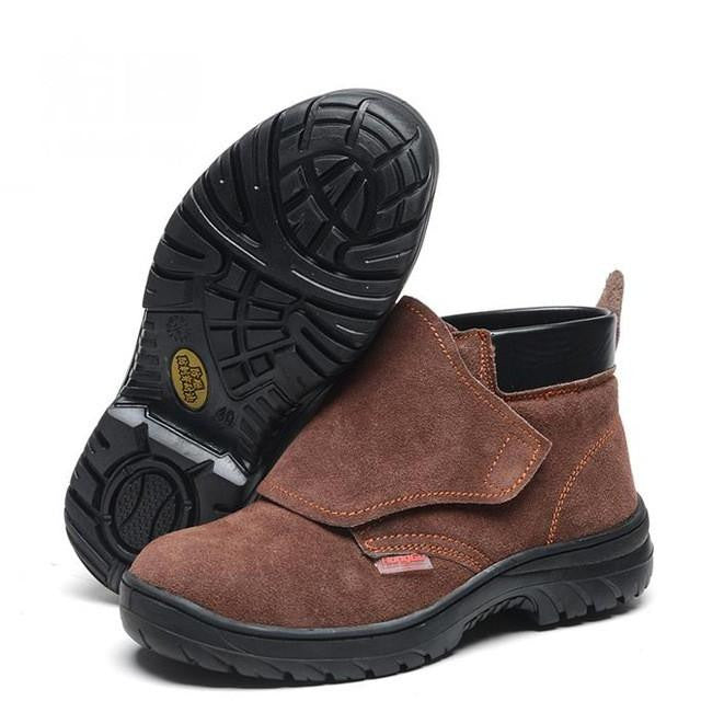 plus size 35 46 steel toe feature boots anti