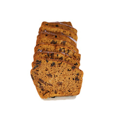 Pumpkin Chocolate Chip Bread - Unsliced