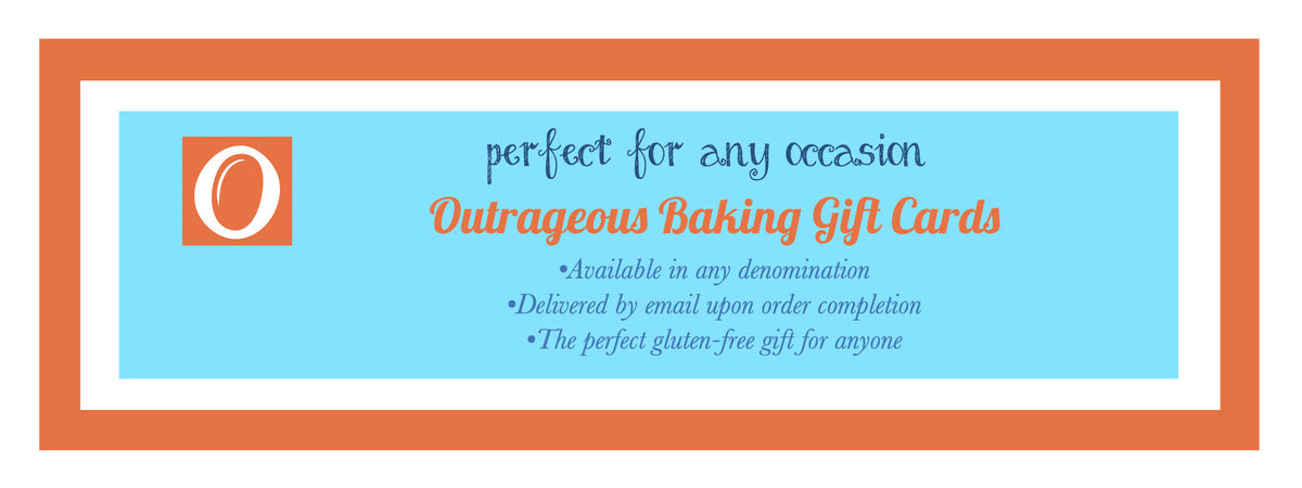Gluten free baked goods and flour mix. Give the gift of gluten free