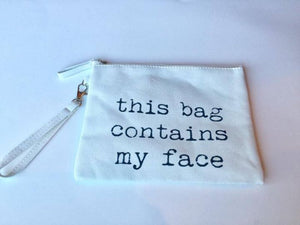 Funny Canvas Make Up Bags