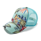 C.C. Tropical Print Trucker Style Hats