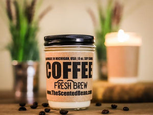 Fresh Brew Coffee Soy Candle, 8oz