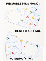 Face Mask- Super Thin Lightweight & Soft. KIDS!