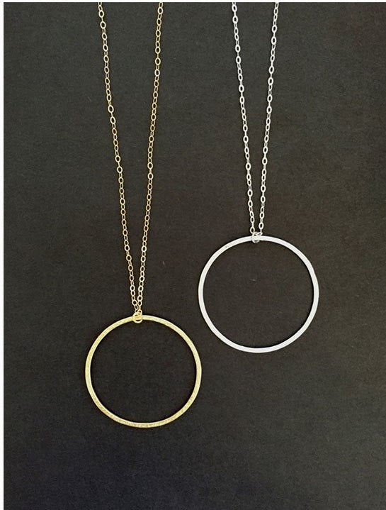 Infinity Necklace Gold & Silver