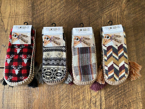 Muk Luks Womens Slipper Socks