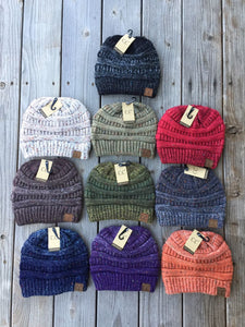 C.C Ombre Flecked Beanie (Adult/One Size)