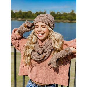 C.C. Infinity Scarf (multiple colors)