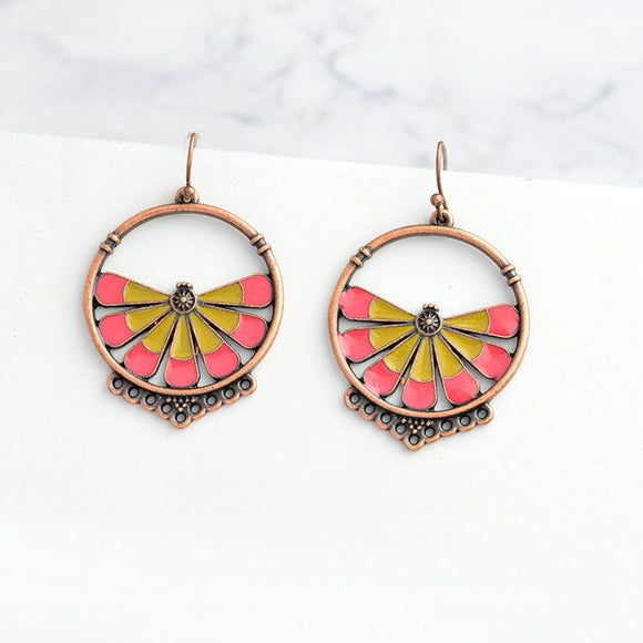 Vintage Inspired Statement Earrings