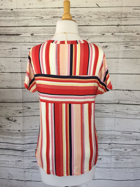 SAMPLE SALE! New Women's Boutique Striped Top, size S/M