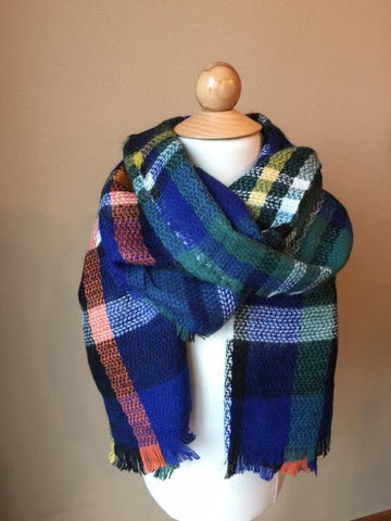 Kids Plaid Scarf *CLEARANCE*