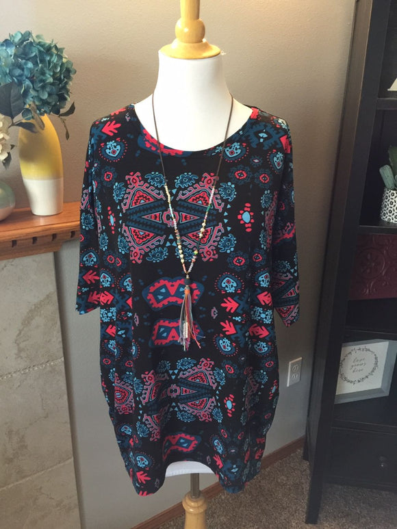 Pre-Loved Women's Like New Lularoe Irma Top, M (12/14)