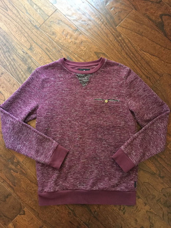 Pre-Loved Men's Teen Like New Pocket Crewneck Sweatshirt, Size S
