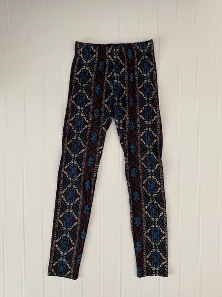 Pre-Loved French Laundry fleece lined leggings, small