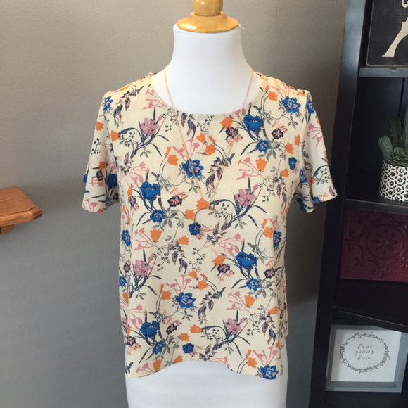 Pre-Loved Women's Xhilaration Floral Top, Size S