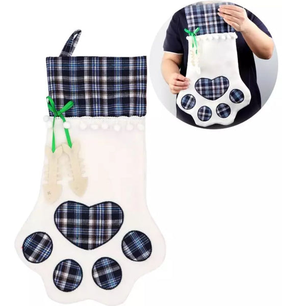Plaid Kitty Cat Pet Stockings! *CLEARANCE*