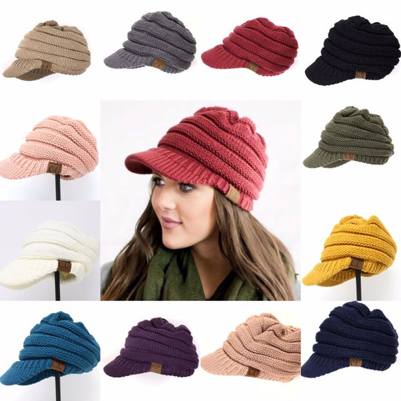 CC Billed Knit Cap Beanie