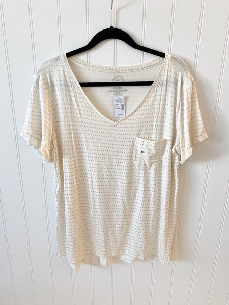 Pre-Loved Women's NEW Maurices 24/7 Pocket Tee, XL