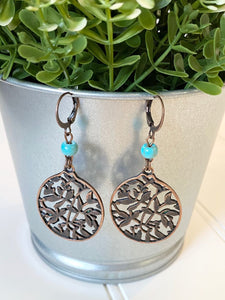 Boho Lattice Earrings
