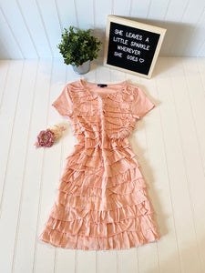 Pre-Loved Girls Gap Kids Ruffled Dress, size XL (12)