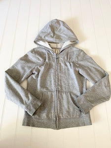 Pre-Loved Girls Old Navy Zip Up Hooded Sweatshirt 8
