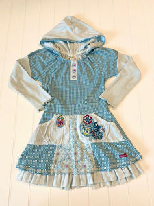 Pre-Loved Girls Naartjie Hooded Dress Tunic Size 6
