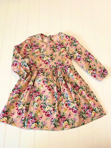 Pre-Loved Girls Like New Floral Dress Size 5