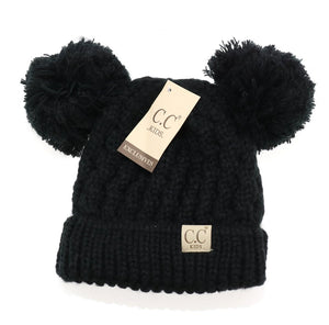 Baby/Toddler C.C. Double Pom Beanie *CLEARANCE*